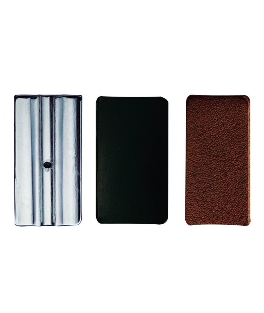 Vandoren Ligature /& Cap Clarinet Bb Leather+Leather