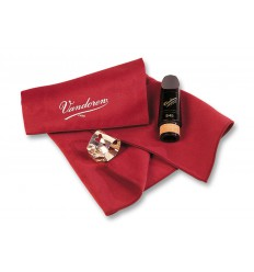 Microfiber clarinet and saxophone polishing cloth