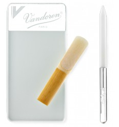 Vandoren Glass reed resurfacer and reed stick
