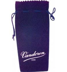 Vandoren Blue suede pouch