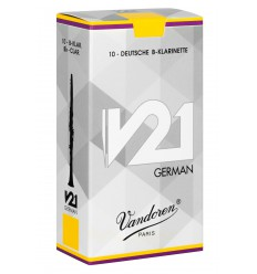 Vandoren White Master German Bb Clarinet Reeds, Box of 10