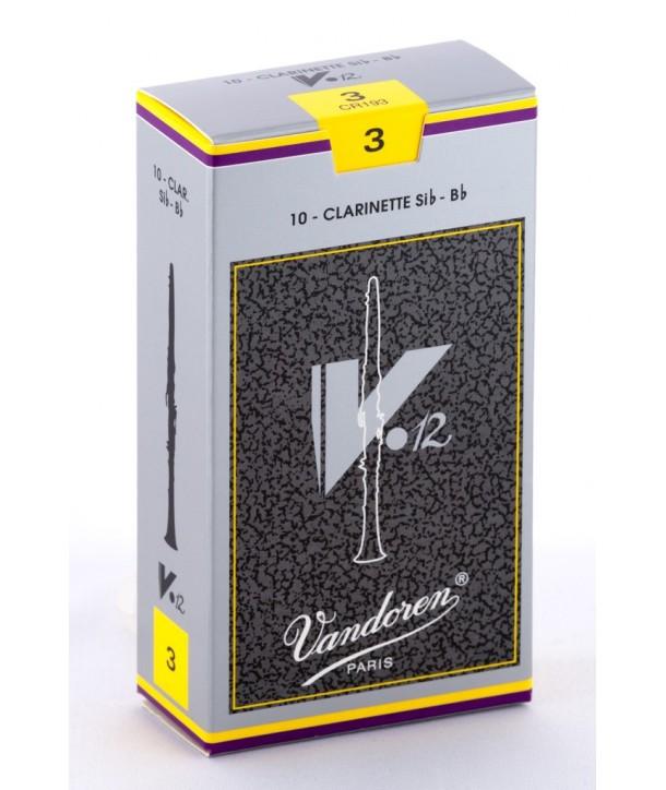 Vandoren V12 Bb Clarinet Reeds, Box of 10