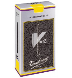 Vandoren V•12 Bb Clarinet Reeds, Box of 10