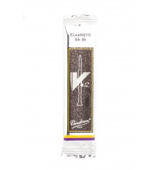 Vandoren V•12 Bb Clarinet Reeds, Flow-pack of 1