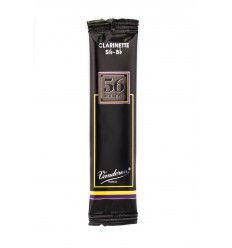 Vandoren '56 rue Lepic' Bb Clarinet Reed, Flow-pack of 1