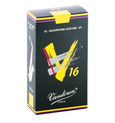 Vandoren V16 Alto Saxophone Reeds, Box of 10